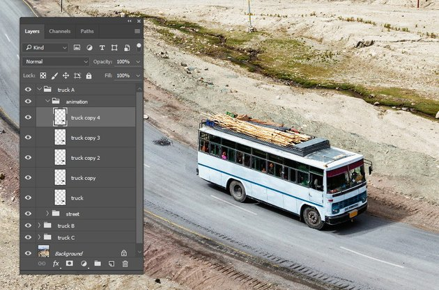 Duplicate the bus layer