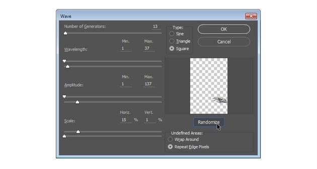 Apply Wave filter