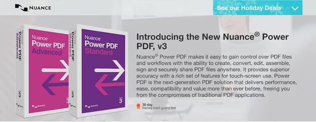 Nuance Power PDF software