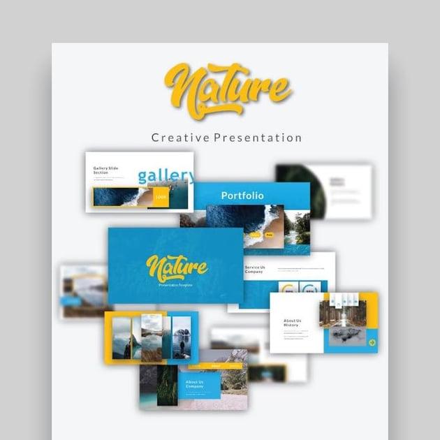 Nature Creative Google Slide Business Presentation Template