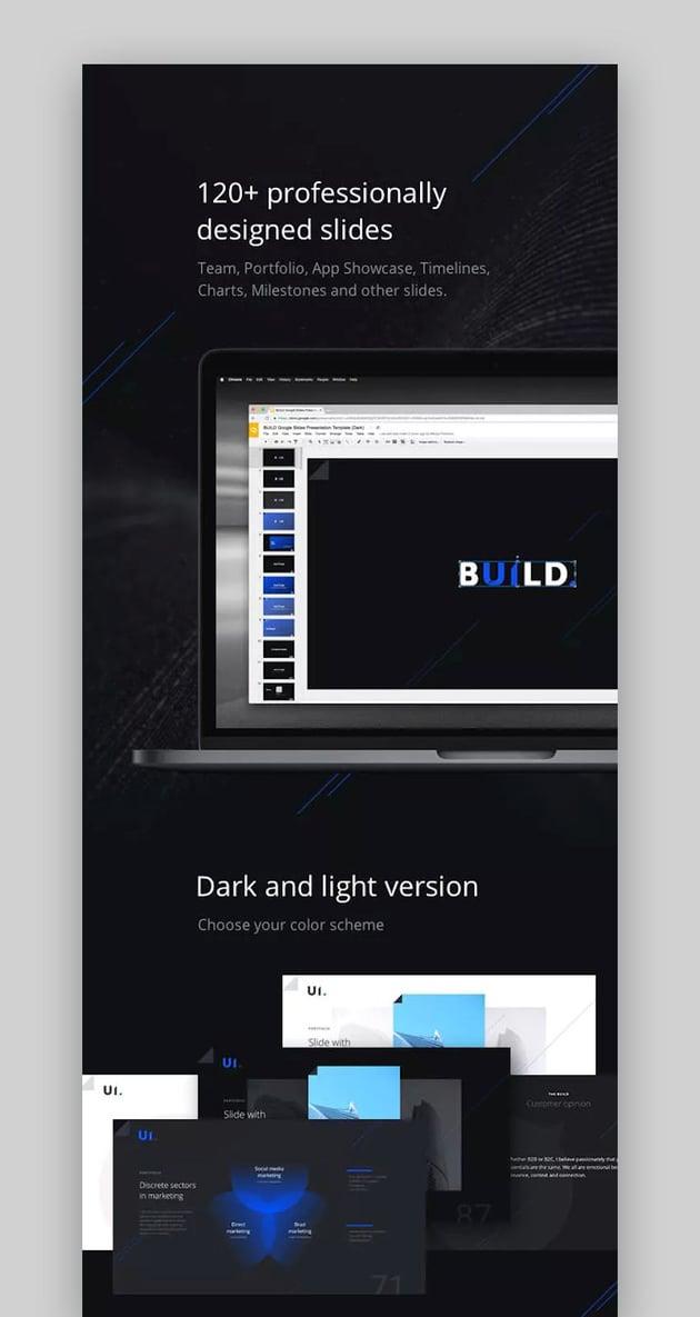 BUILD Google Slides Presentation Template