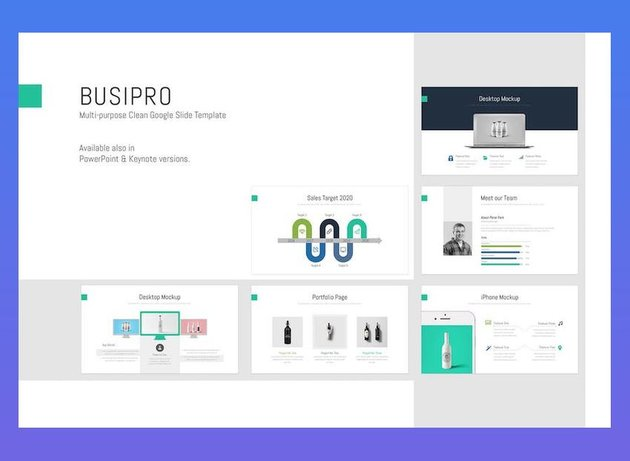 BusiPro - Clean Google Slides Template
