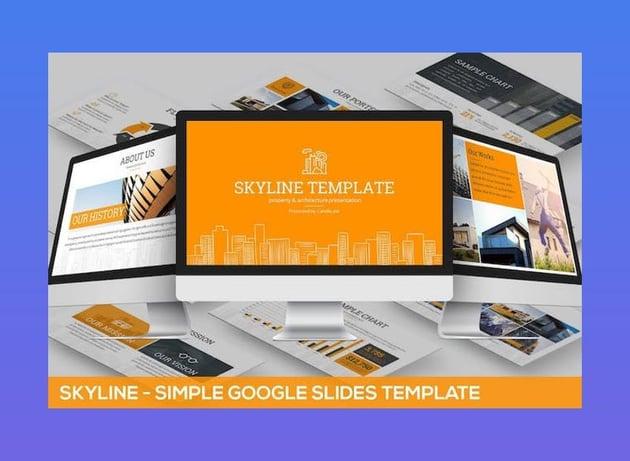 Skyline Google Slides Template
