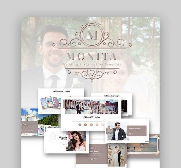 Monita Wedding Presentation Template