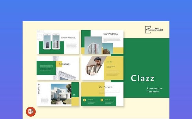 Clazz - Real Estate Powerpoint Presentation Slides