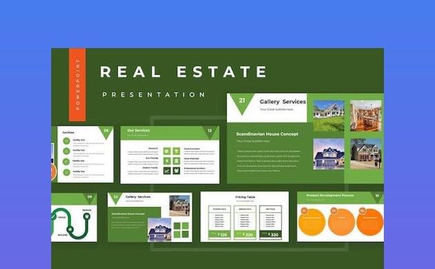 Real Estate Powerpoint Presentation