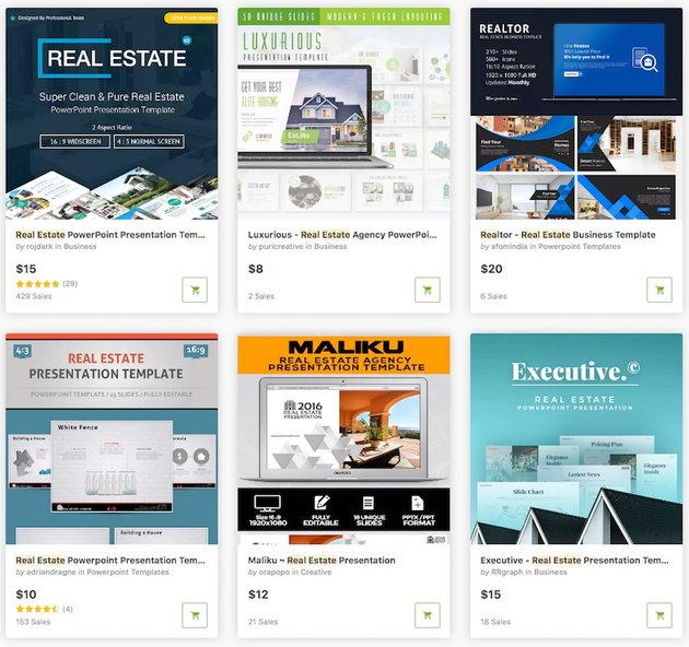 Templates for Real Estate Marketing Presentations