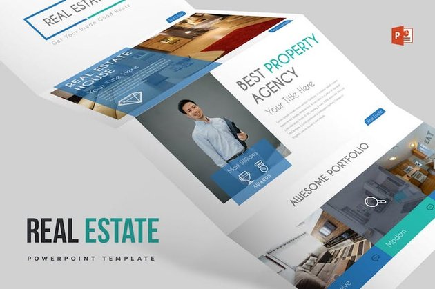 Real Estate Marketing PowerPoint Template
