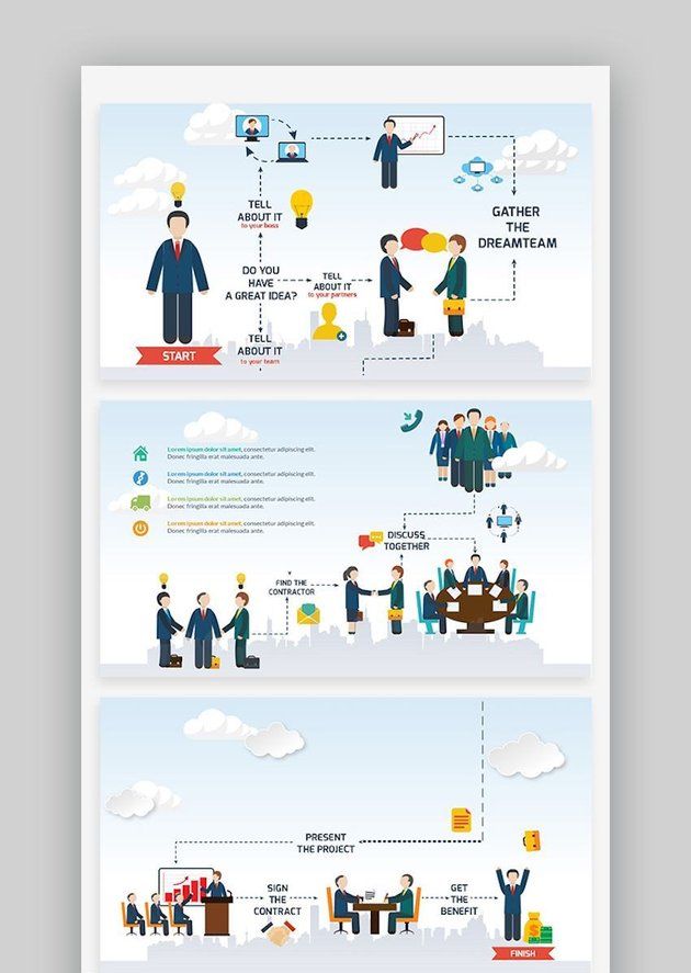 Infographic Templates Compatible with Google Slides