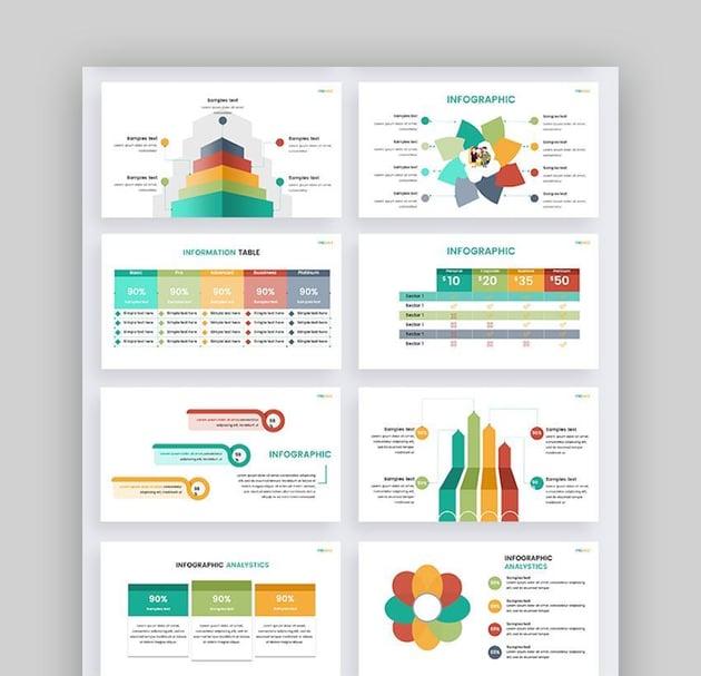 Google Slides Template-Infographics