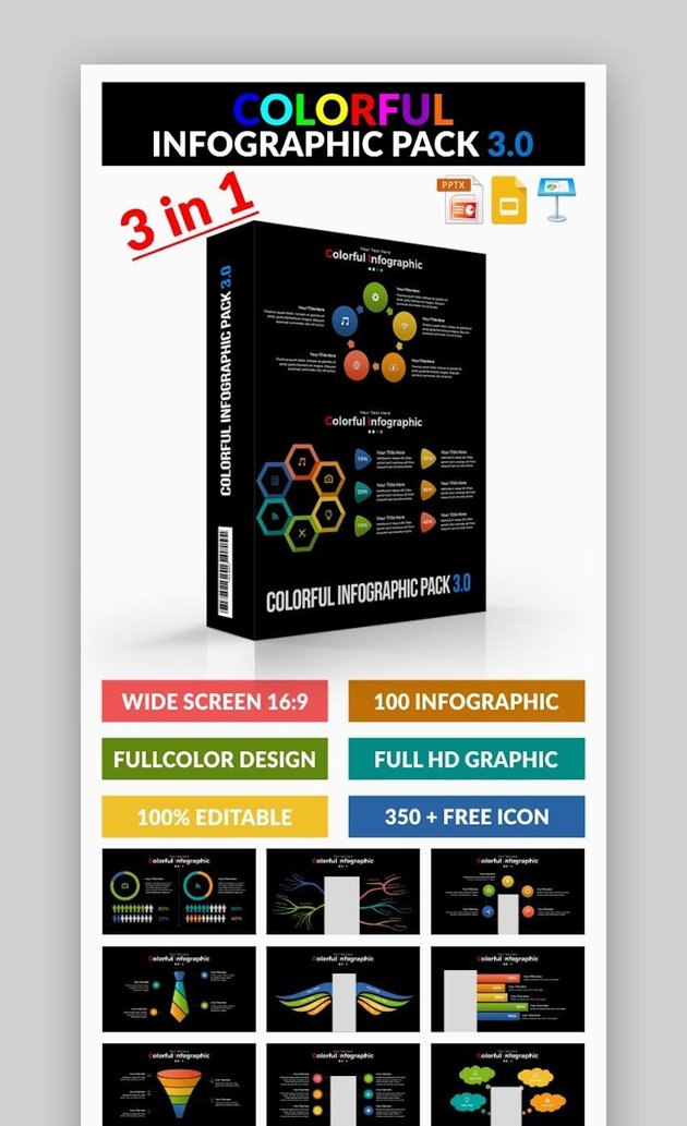 Colorful Infographic Templates