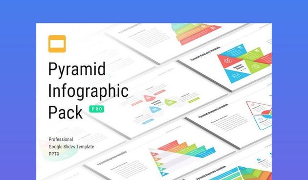 Infographic Template - Pyramid Diagrams