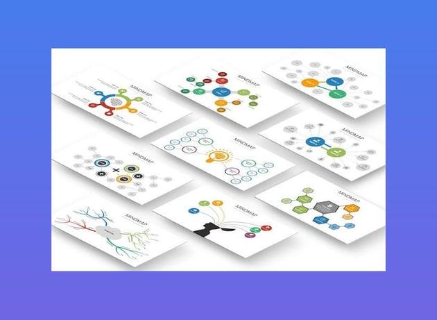 Mindmap Diagram Powerpoint Template