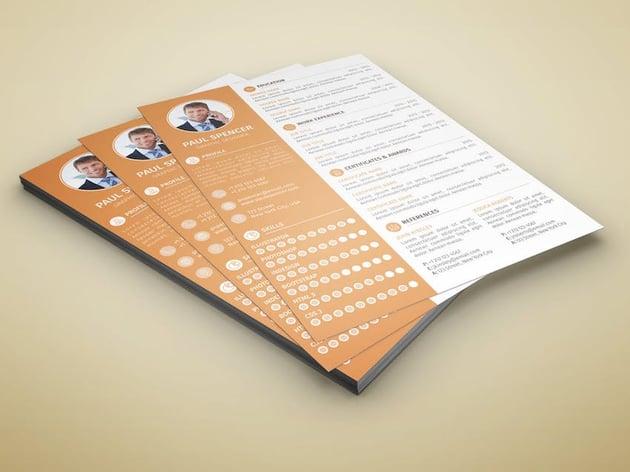 Resume Design Color Scheme