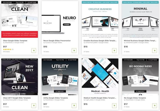 Animated Google Slides Templates from GraphicRiver