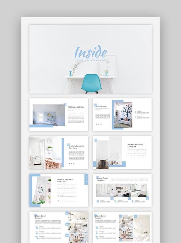 Inside - Interior Google Slides Template