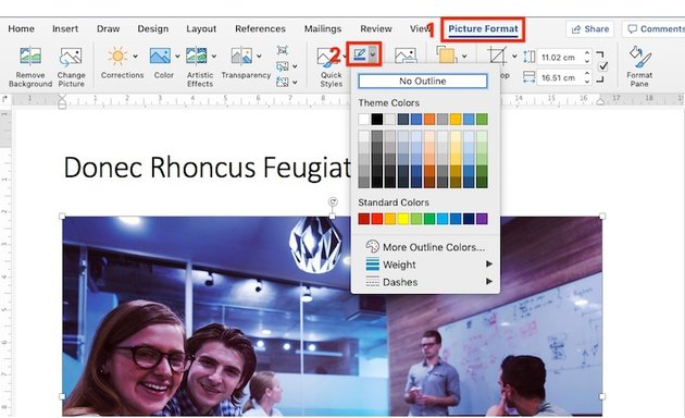 How to Add a Border to an Image in Word