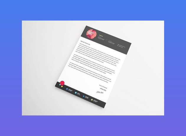 Creative Cover Letter Template Word