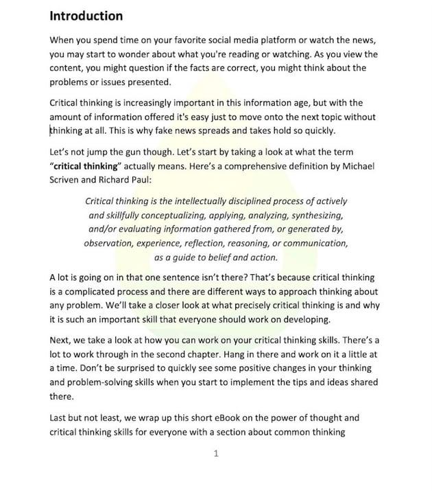 Image Watermark - Microsoft Word