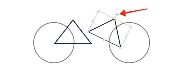 Draw in Microsoft Word - Rotate shape