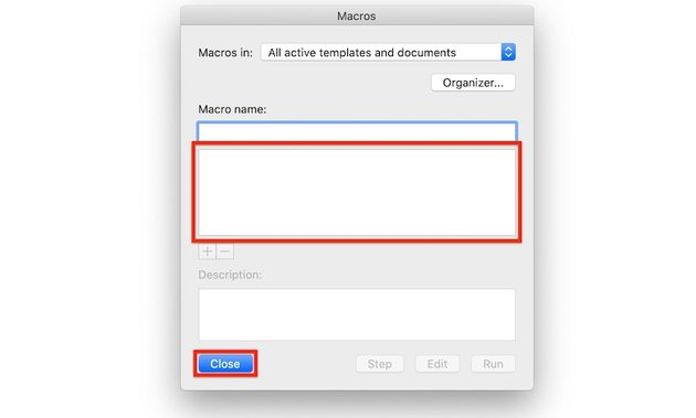 Macros in Word - Macro deleted