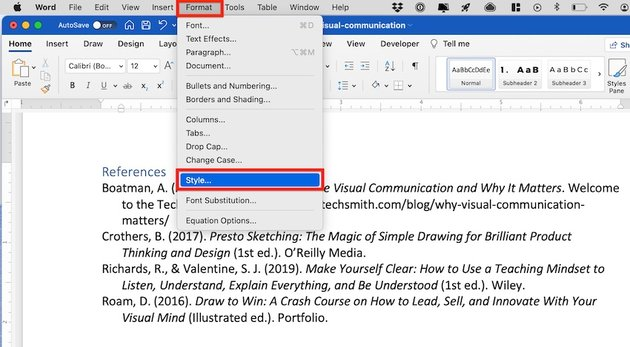how to do a hanging indent on microsoft word