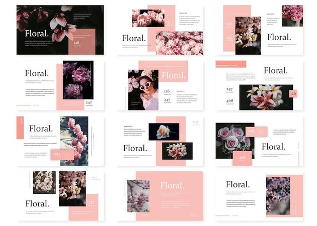 floral powerpoint templates