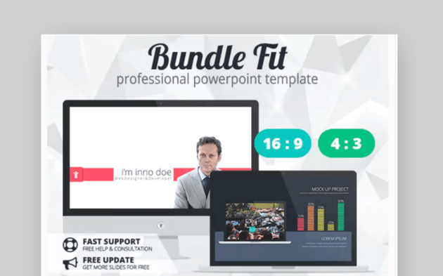 FIT powerpoint org chart template