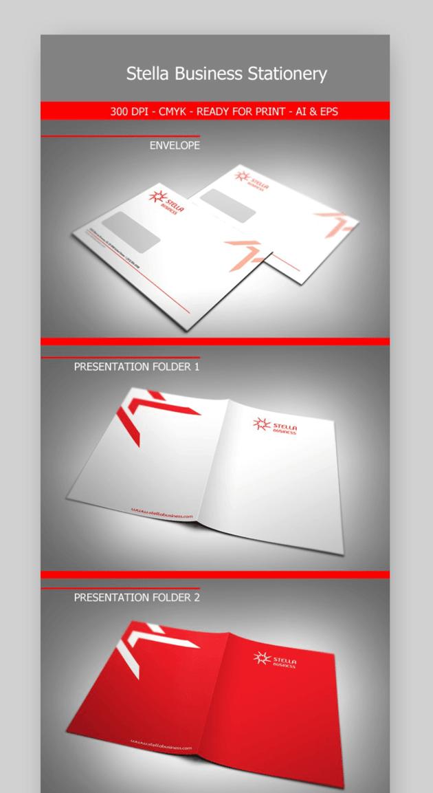 Stella business letterhead templates