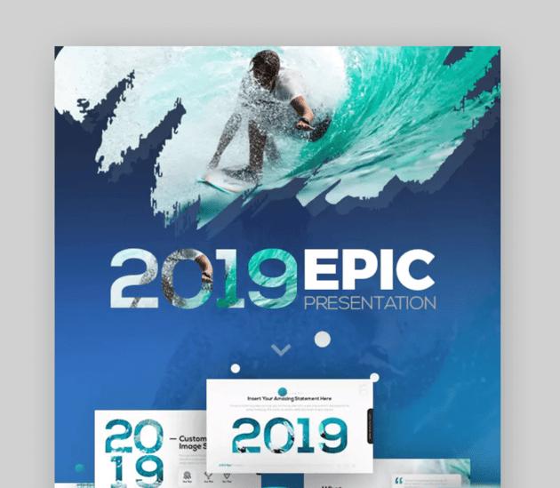 2018 Epic Presentation Template