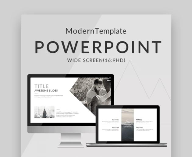 Modern ppt slides designs