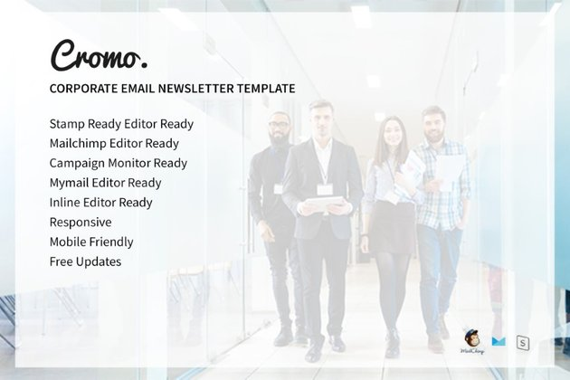 email newsletter templates - Cromo on Envato Elements