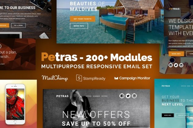 email templates - Petras on Envato Elements