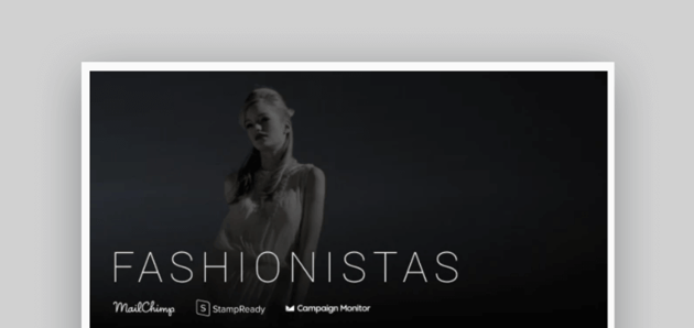 email newsletter templates - Fashionistas