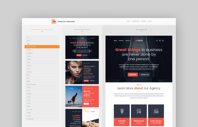 email newsletter templates- Petras