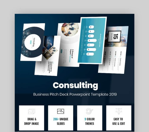 consulting powerpoint presentation template