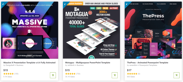Get premium presentation templates on GraphicRiver