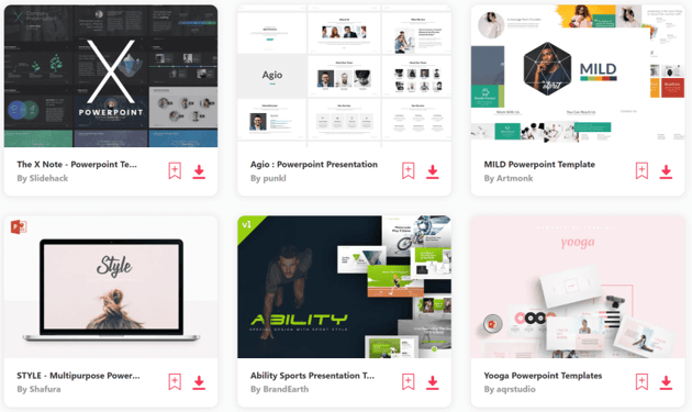 Download premium PowerPoint templates on Envato Elements