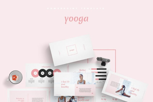 yooga powerpoint template download