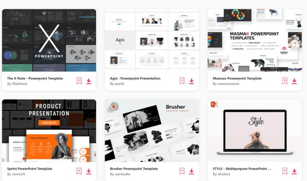 Find the best premium PowerPoint templates