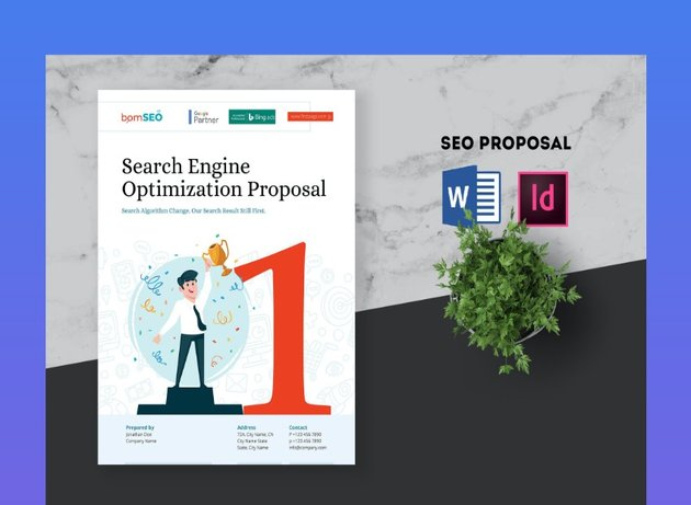 microsoft word business proposal template