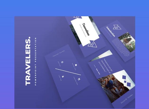 powerpoint background design travel