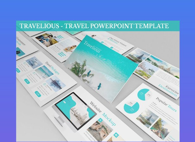travel presentation powerpoint