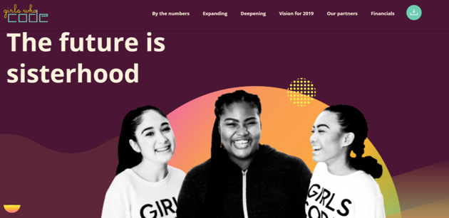 Girls Who Code Annual Report