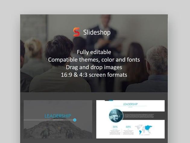 leadership presentation ppt slides