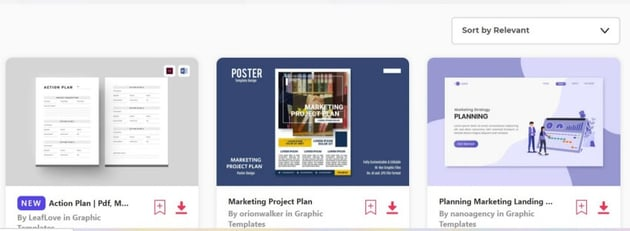 marketing templates for word