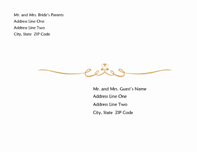 free envelope templates for microsoft word