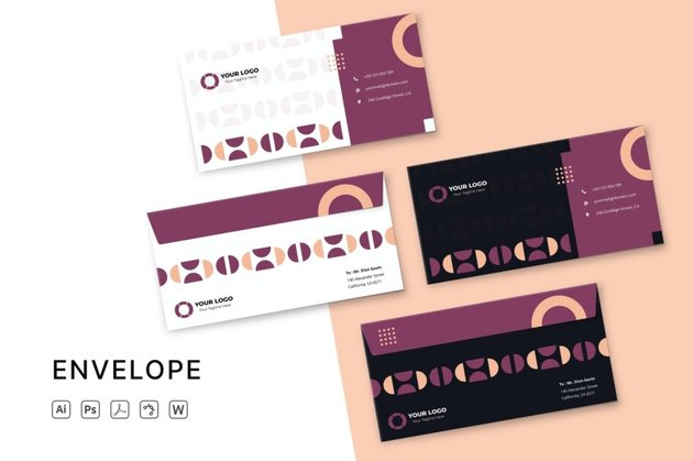 microsoft word envelope templates