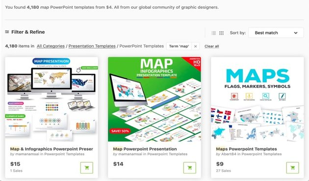 GraphicRiver Map Templates