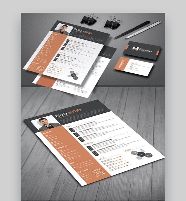 Resume Template For InDesign